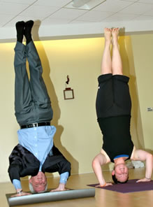 Yoga-headstand