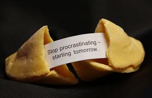 I procrastinate too much?